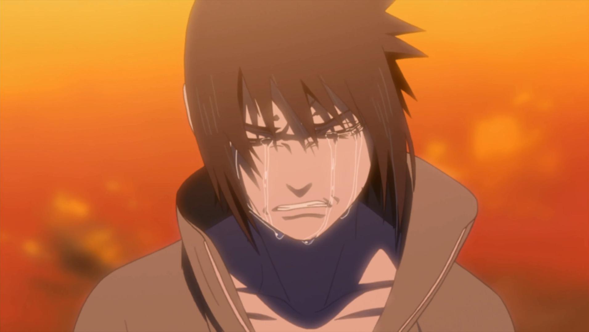7 Naruto Shippuden Characters Who Turned Evil... Sasuke Uchiha cry