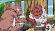 Gamabunta and Great toad