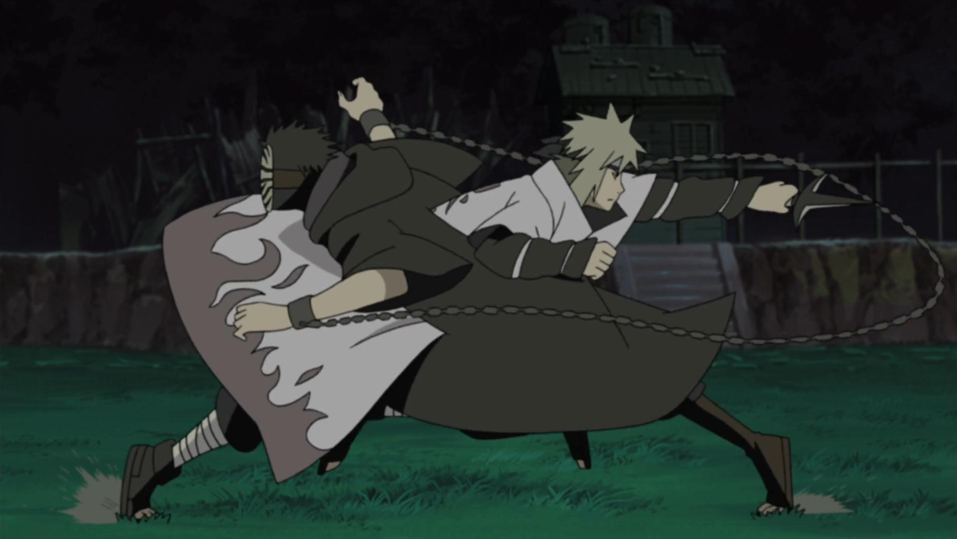 The Fourth Hokage's Death Match | Narutopedia | FANDOM ...