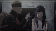 Naruto and Hinata grow closer