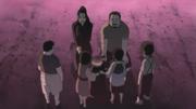 Dokku and Shiseru say farewell to the children