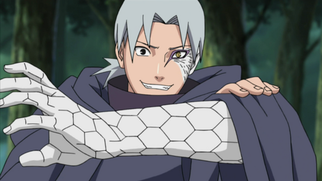 File:Orochimaru's remains taking over Kabuto.PNG