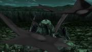 Hiruzen uses giant shuriken.png