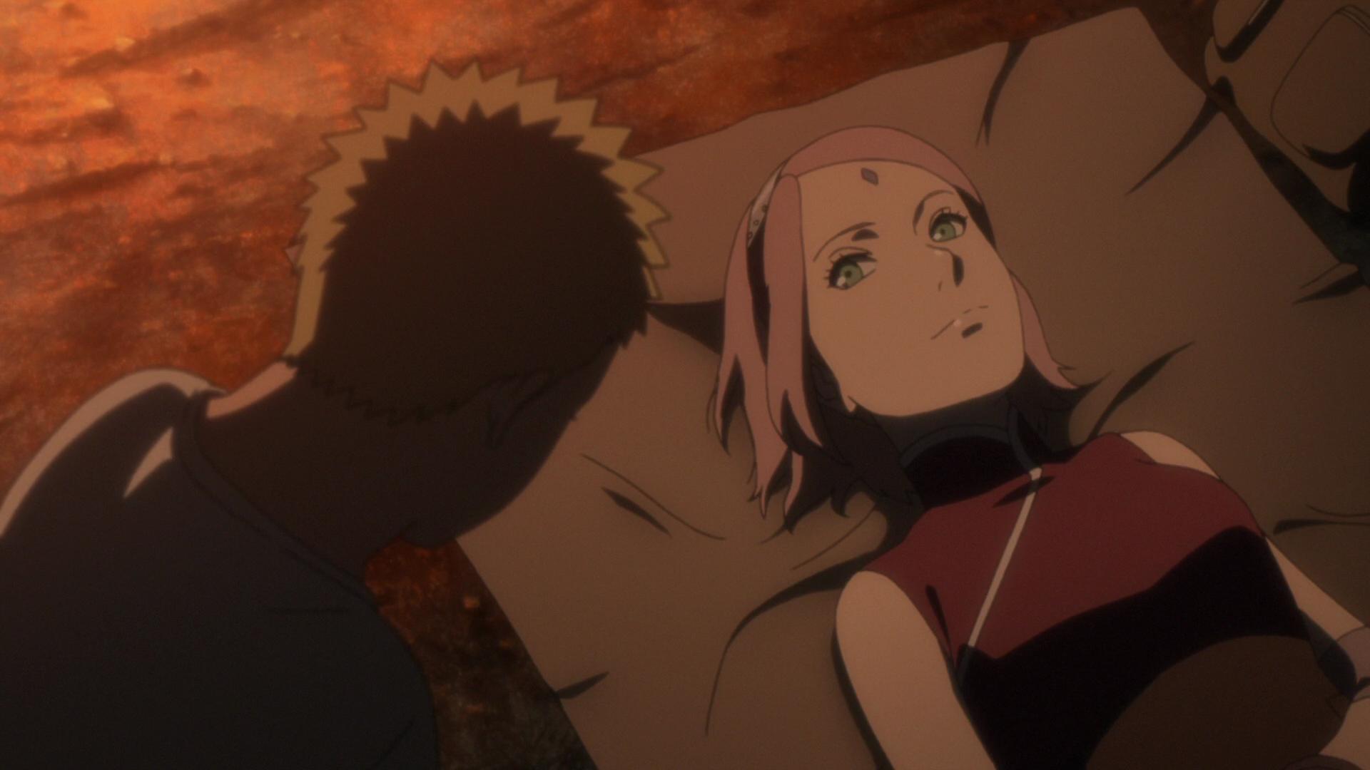 Image - Sakura reassures Naruto.png   Narutopedia   FANDOM ... Naruto Shippuden Naruto And Sakura Kiss