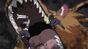Kurama Swallows Kinkaku and Ginkaku
