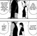 Sakura threatens Sai