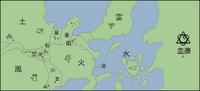 Naruto-World-Map Expanded