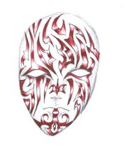 Tatoo or Mask by DragoonKinomiya