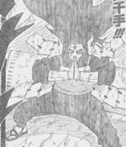 Hashirama in Sage Mode