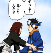 Rin and Obito in the afterlife