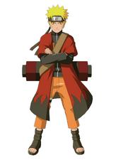 Naruto with coat