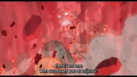 Naruto Shippuden - Guy Vs Madara - Night Guy Activation