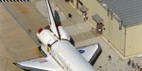 Space Shuttle Discovery-Mobile