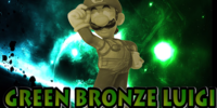 Green Bronze Luigi