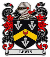 Lewis coat of arms currently