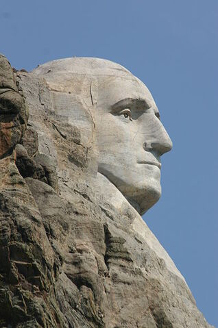 File:Lovia - Hightech Valley - George Washington Park - 398px-Sideview of George Washington Statue at Mt Rushmore.jpg