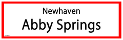 Abby Springs RS Sign