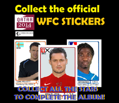 Collect wfc stickers ad