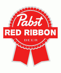 Pabst Red Ribbon Logo