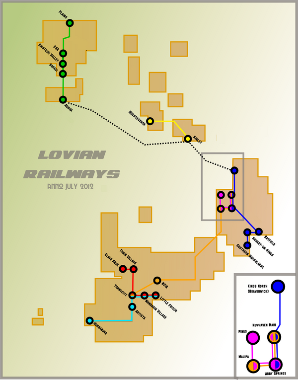 Lovian Railways July 13 2010