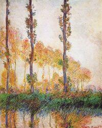 Poplars (Autumn)