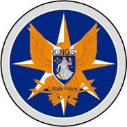 KingsStatePolice Seal