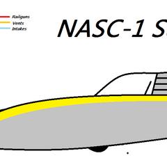 The Sunfighter, United Alaska's old space superiority Starfighter.