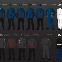 Naval Outfits of the Fleet
