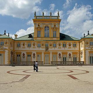 The Façade of the Castle.