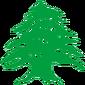 Flag of Lebanon Cedar