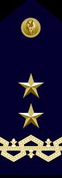 Ispettore Generale PS - Maggior Generale Comandante in seconda CPR