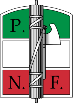 National Fascist Party - Italian Social Republic (Jinavia run)