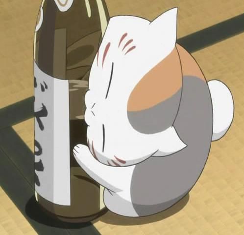 Image - Madara-shi-drinks.jpg | Natsume Yuujinchou Wiki ...  Image - Madara-...