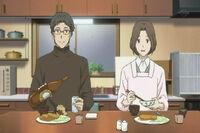 Shigeru & touko eats