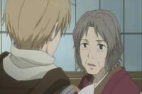 Chizu shocked at seeing natsume