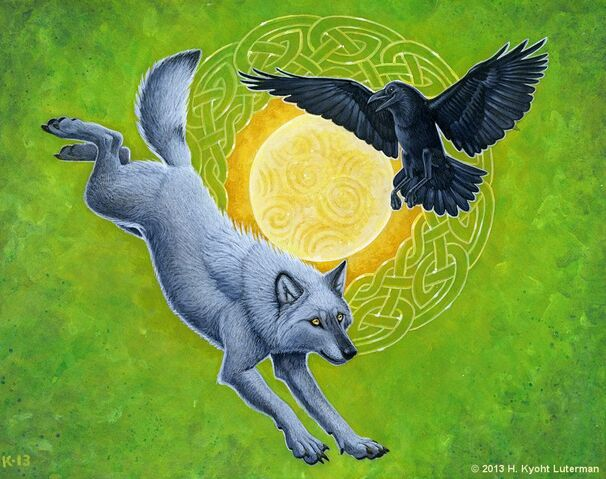 File:Wolf and raven by kyoht-d68fm8a.jpg