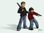 Kids With Guns wallpaper by Ferntree