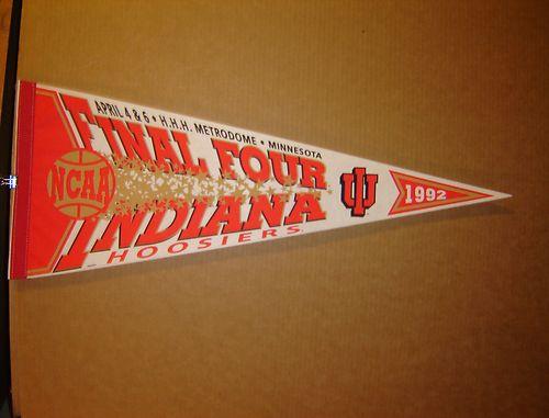 File:1992 Indiana Hoosiers Final 4 Pennant.jpg