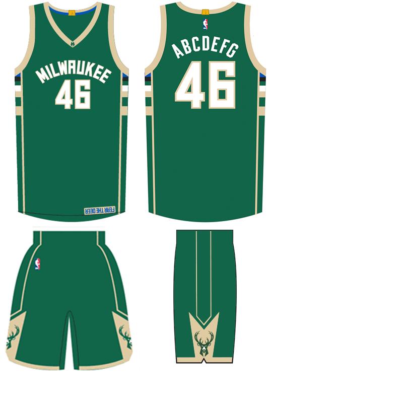 Image - Milwaukee Bucks road uniform 2015-16.png ...