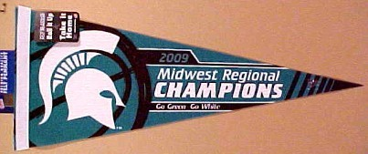 File:2009 Michigan State Spartans Midwest Regional Champs Pennant.jpg