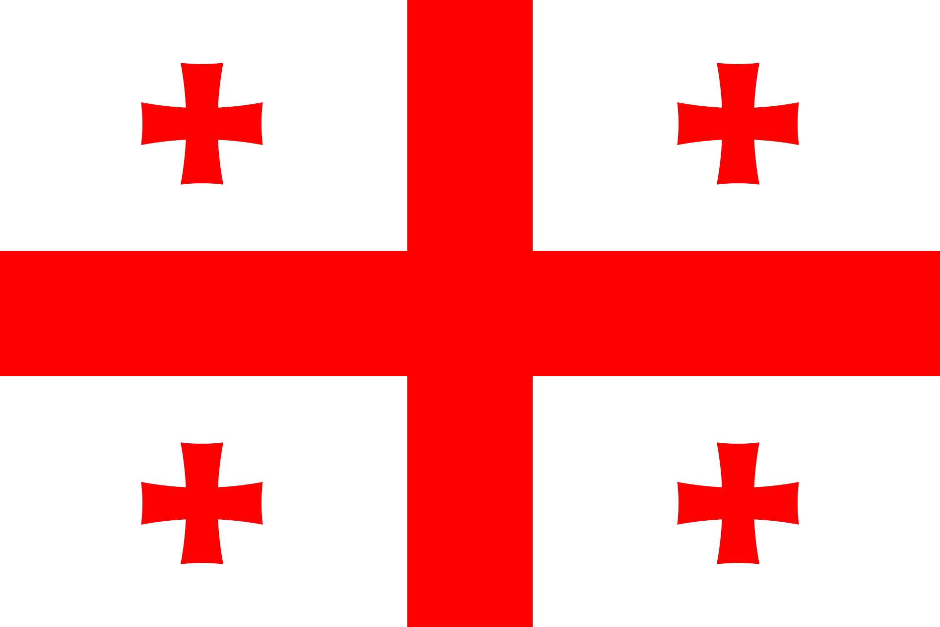 Georgia (country) Flag
