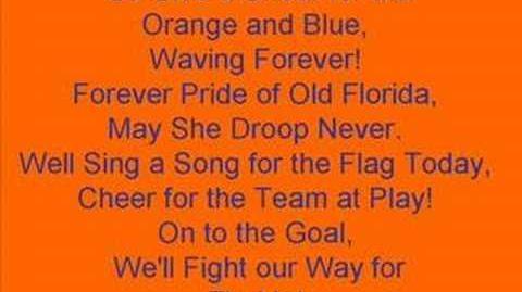 The Orange and Blue