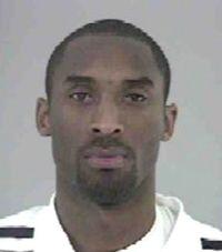 Kobe Bryant - mug shot
