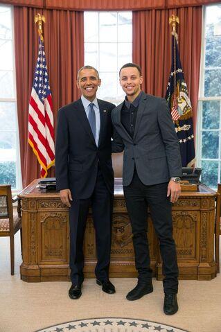 File:Barack Obama and Stephen Curry.jpg