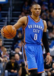 Russell Westbrook Oklahoma City Thunder v HgmhLxlW4Ubl