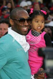 Kobe Braynt similes with Natalia chesse