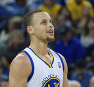 Stephen Curry close up