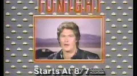 The Powers Of Matthew Star & Knight Rider 1983 Promo