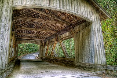 File:Covered Bridge Cedar Creek.jpg