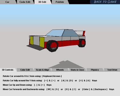 Simple Car Sport 12'